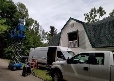 TK2 Films Shoot: 18k HMI Scissor Lift Mount