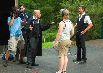 TK2 Films Shoot: Scene Rehearsal